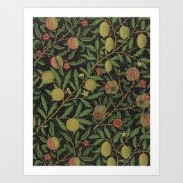 """William Morris """"Fruit or Pomegranate"""" 8. Art Print"""