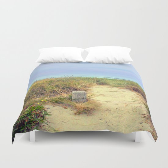 Beach Path Duvet Cover