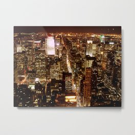 View from the Empire State Building Metal Print