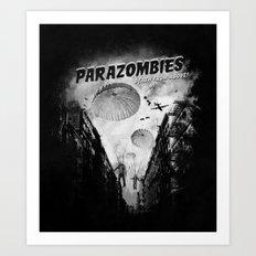 Parazombies Art Print