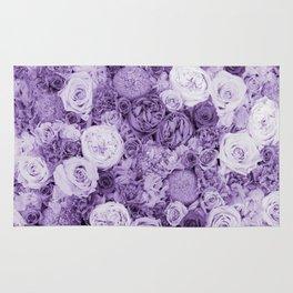 bouquet ver.purple Rug