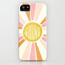 sundial shine iPhone Case