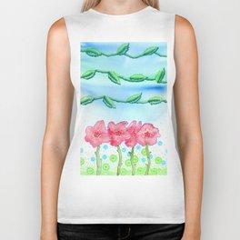 Valley of Roses Biker Tank