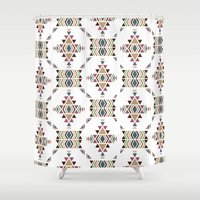 navajo Shower Curtains featuring Navajo  by CrystalFairy