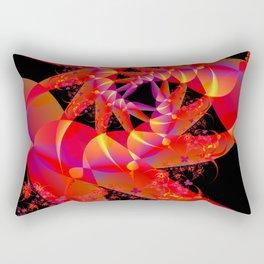Firecracker Red Rectangular Pillow