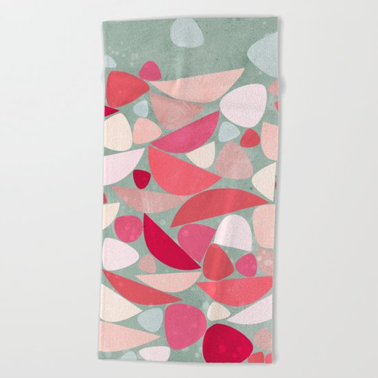 Sea Bed Beach Towel
