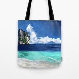 Beach Landscape Tote Bag