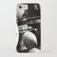 drums iPhone & iPod Cases featuring Drums by TomP