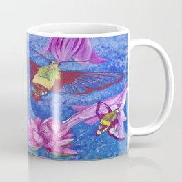 Hummingbird Moth and Frog Coffee Mug