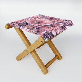 Flower | Photography | Pink Blossoms | Spring | Pattern Folding Stool