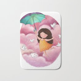 Fly Away with me Bath Mat