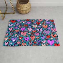 #MindfulHearts #faces Rug