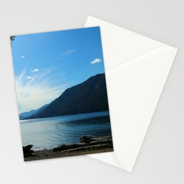 Lake Crescent Shore Stationery Cards