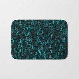 Binary Data Cloud Bath Mat