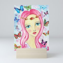 Butterfly Love Mini Art Print