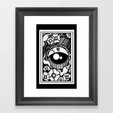 ojo japones Framed Art Print