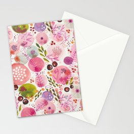 Pink Bubble for a Happy Spring Stationery Cards