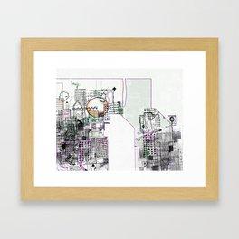 Deteriorated Detroit  Framed Art Print