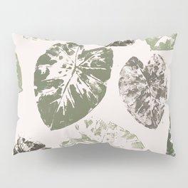 Kalo leaf print Pillow Sham