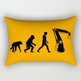 Replaced  |  Human Evolution Rectangular Pillow