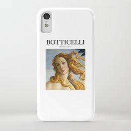 Botticelli - The birth of Venus iPhone Case