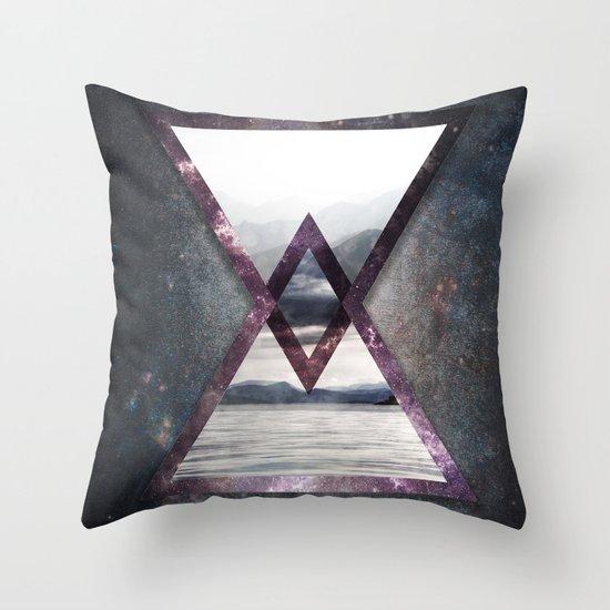 Irregular Galaxy Throw Pillow