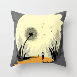 Travel more Throw Pillow