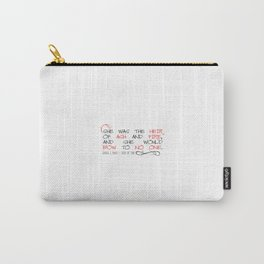 Heir of Fire Quote Carry-All Pouch