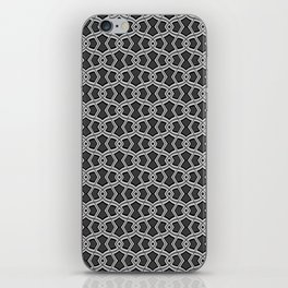 Diamond Shapes on Charcoal iPhone Skin