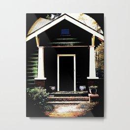 Side Stoop 975 Metal Print