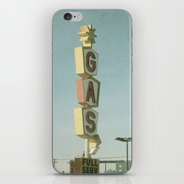 Vintage Gas iPhone Skin