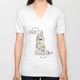 Shopping Essentials Unisex V-Neck