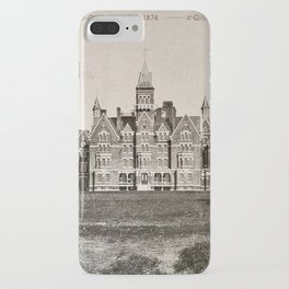 Danvers State Hospital (Danvers Lunatic Hospital), Kirkbride iPhone Case