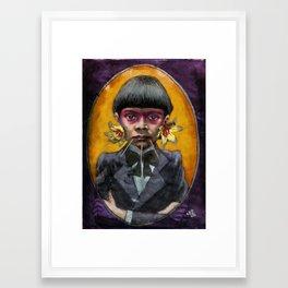 The Savage Framed Art Print