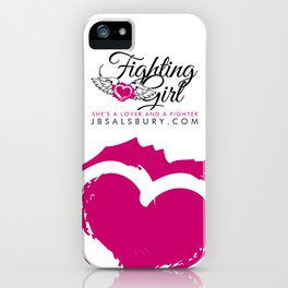 Fighting Girls iPhone Case