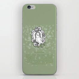 Velveteen Rabbit Wisdom Illustration for Children iPhone Skin