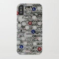 Do The Hokey Pokey (P/D3 Glitch Collage Studies) Slim Case iPhone X