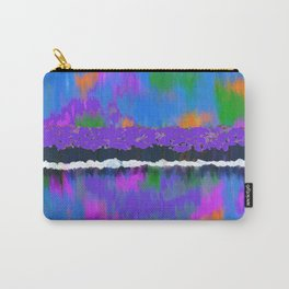 TREES BY THE LAKE OIL PAINTING Carry-All Pouch