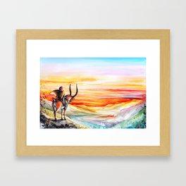 """""""Sunset"""" Framed Art Print"""