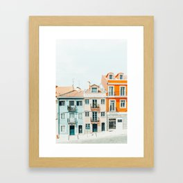 Beautiful Day #photography #architecture Framed Art Print