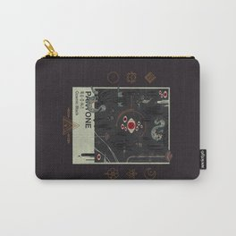 Cosmic Black Carry-All Pouch
