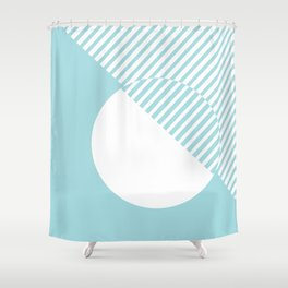 Island Paradise #pantone #color #decor Shower Curtain
