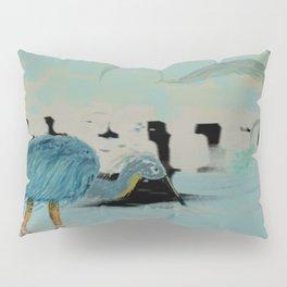 Water Hunter in a Overcast Dusk Pillow Sham