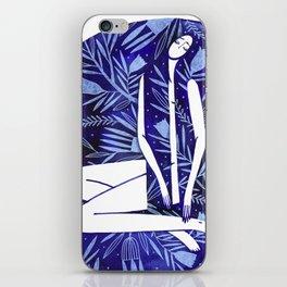 BlueGirl iPhone Skin