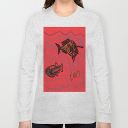 Unicorn Fish Long Sleeve T-shirt