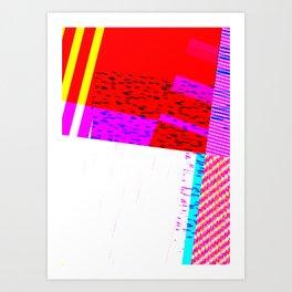 GLICTH_16 Art Print