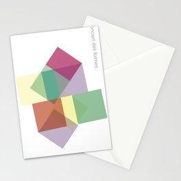 concert des formes Stationery Cards