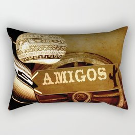 Mexican Rectangular Pillow