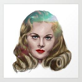 Jeanne Crain Art Print