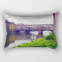 Ponte Vecchio, Florence Rectangular Pillow
